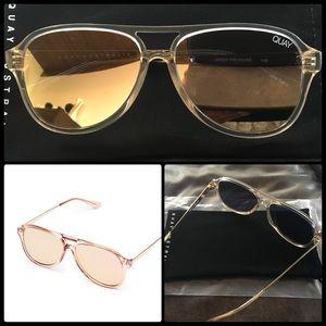 3639d39deb256 Quay Australia Accessories - QUAY 🥂Under Pressure Champagne Rose NWT